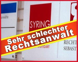 RECHTSANWALT BJOERN SYRING KOERNERSTR 66 HAGEN
